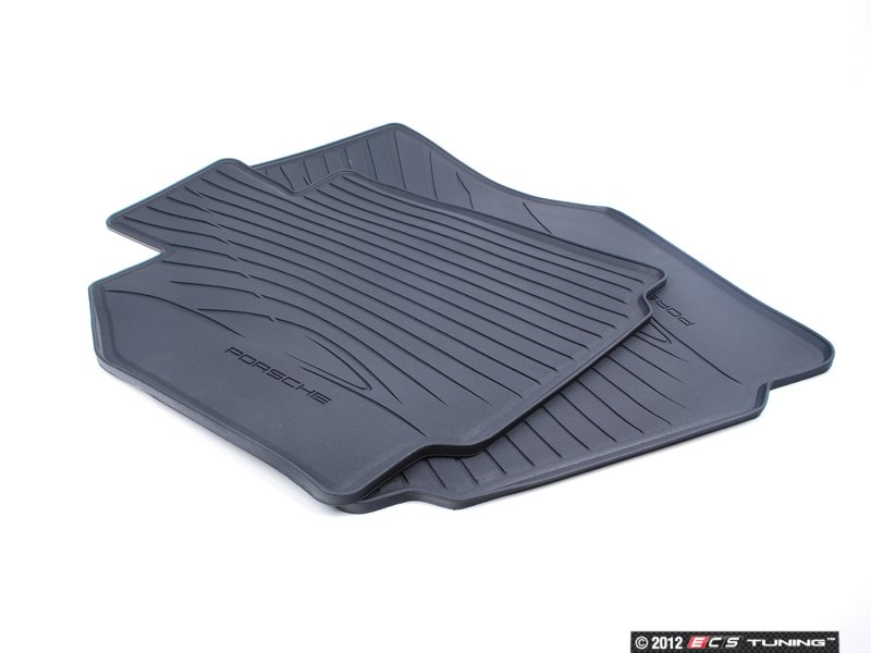 ES#1472180   98704480093   Rubber Floor Mat Set   One Set Of Two Rubber