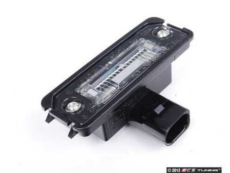 ES#2078151 - 99763162002 - License Plate Light - Priced Each - Includes bulb - Genuine Porsche - Porsche
