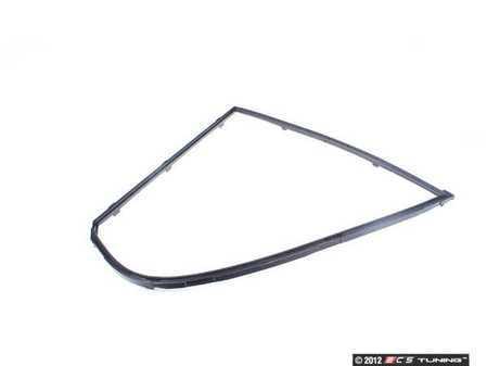 ES#95051 - 51348186183 - Rear Door Quarter Window Frame - Left - For the fixed side window in the rear door - Genuine BMW - BMW