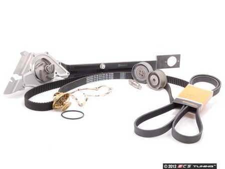 ES#7557 - 078198675 - ECS Tuning Timing Belt Kit - Ultimate - Everything you need for a complete timing belt job. Buy it all together & save. Includes ECS Cam locking tool. - Assembled By ECS - Audi