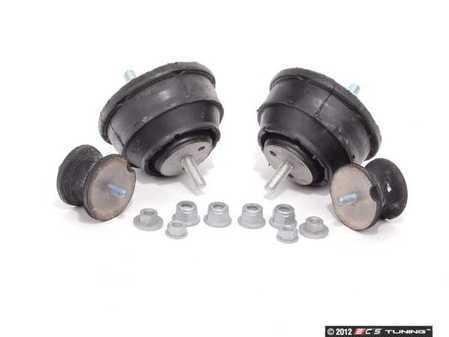 ES#2588214 - 11811140985KT1 - Motor And Transmission Mount Kit - Includes mounting hardware - Assembled By ECS - BMW
