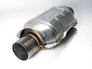 "ES#4387 - 6906 - Universal Catalytic Converter - 2.5"" - 2.5"" inlet/outlet, 14"" length of converter itself, 6"" width & 4"" height - Emico - Audi Volkswagen"