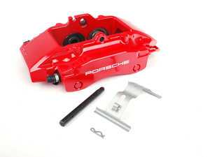 ES#1485553 - 99635242213 - Rear Brake Caliper - Red - Right side fitment - Genuine Porsche - Porsche