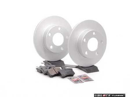 ES#2561511 - 8D0615601AKT1 - Rear Brake Service Kit - Featuring Meyle rotors and Vaico semi metallic pads - Assembled By ECS - Audi