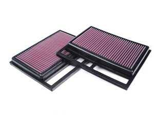 ES#2593251 - 2750940204 - Engine Air Filter Set - Contains two (2) engine air filters - K&N - Mercedes Benz