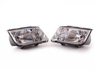 ES#523253 - 1J5698001BG - European Headlight Set - With fog lights, with clear turn signals - Genuine European Volkswagen Audi - Volkswagen