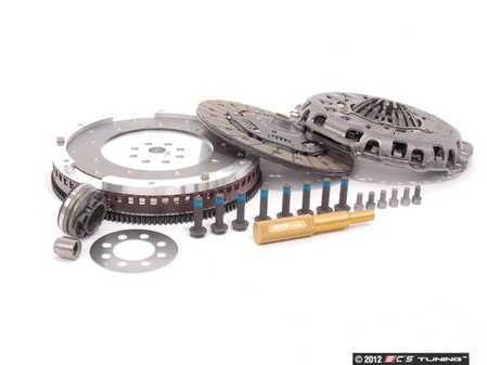 ES#1328 - B5S4RS4CKFW - Stage 1 Clutch Kit - Lightweight Aluminum Flywheel (12lb) - 12lb lightweight aluminum flywheel & RS4 clutch kit - Assembled By ECS - Audi