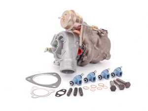 ES#6036 - 058149000 - K04 Turbocharger With ECS Install Kit & TT Injectors - ECS Hardware only kit, K04 specific software is required for correct operation - Assembled By ECS - Audi