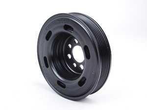 ES#279241 - 06A105243E - Crankshaft Pulley - Standard size replacement vibration dampening pulley - Genuine Volkswagen Audi - Audi Volkswagen