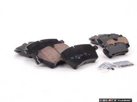 ES#2588100 - 34116778320KT2 - Brake Pad Kit - Akebono - Replacement brake pads to restore your stopping power : Front & Rear - Assembled By ECS - MINI