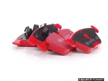 ES#2153402 - DP31512C - Front RedStuff Performance Brake Pad Set - A high performance street pad, featuring Kevlar technology - EBC - BMW