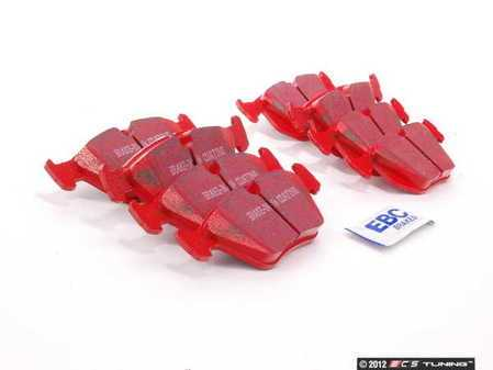 ES#2593946 - DP31552CKT1 - Front And Rear Brake Pad Kit - EBC RedStuff - A set of high performance street pads, featuring Kevlar technology - EBC - BMW