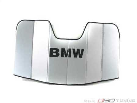 ES#246247 - 82110443851 - UV Sunshade - Used to keep the summer sun from overheating your 1-Series interior. - Genuine BMW - BMW
