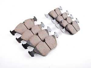 ES#2593534 - EUR946KT - Front  Rear Euro Ceramic Brake Pad Kit - A favorite among BMW enthusiasts - Akebono - BMW