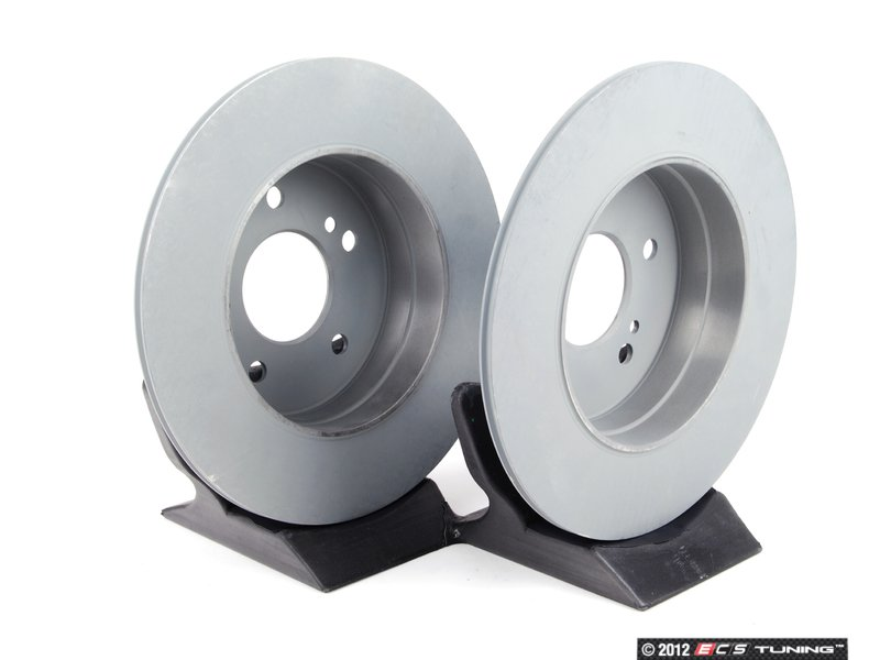 Genuine mercedes benz 2034230112kt1 rear brake rotors for Mercedes benz rotors and pads
