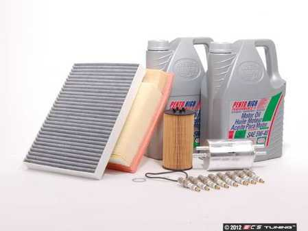 ES#251877 - B6B7s440k0-30 - 40k Service Kit - 0W-30 Synthetic Oil - Includes everything you need to complete the factory 40k service - Assembled By ECS - Audi