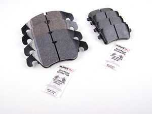 ES#2593796 - HB641F.696KT - Front & Rear HPS Performance Brake Pad Kit - Restore your stopping power with one of our all around best selling brake pads! - Hawk - Audi