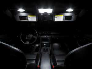ES#2202566 - B7LEDKIT - Master LED Interior Lighting Kit - Transform your complete interior in minutes with new LED interior bulbs from Ziza - ZiZa - Audi