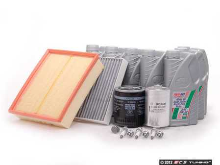 ES#2994 - A627TT40KSK - 40k scheduled Service Kit - Everything you need to perform the recommend 40k mile service - Assembled By ECS - Audi