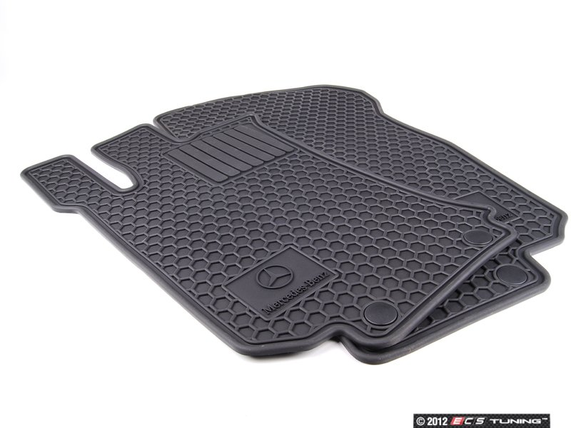 Genuine mercedes benz q6680692 all weather rubber for Mercedes benz floor mats