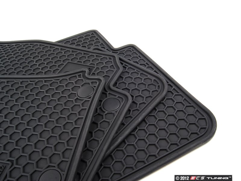 genuine mercedes benz q6680692 all weather rubber On mercedes benz rubber floor mats with logo