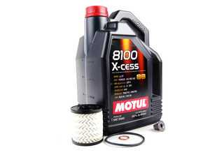 ES#2581327 - 11427622446KT2 - MINI Motul 8100 X-Cess 5w-40 Oil Service Kit Gen 2 - Priced As Kit - All in one service for your MINI - Assembled By ECS - MINI