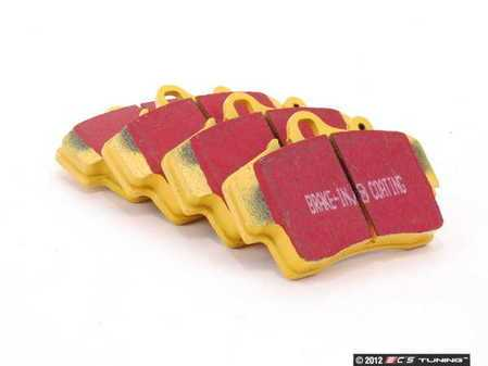 ES#520772 - DP41207R - YellowStuff Performance Brake Pad Set - A race quality pad that can be used on the track or on the street - EBC - Porsche
