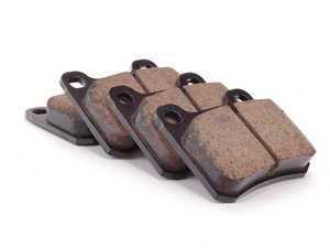 ES#2598491 - 0004209820 - Rear Euro Ceramic Brake Pad Set - For Vehicles With Two (2) Retaining Pin Rear Brake Pads - Akebono - Mercedes Benz