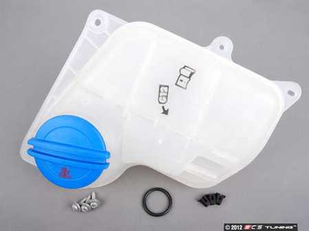 ES#2580975 - 8D0121403LKT - Expansion Tank Replacement Kit - Install a brand new expansion tank with a new cap and hardware - Genuine Volkswagen Audi - Audi Volkswagen