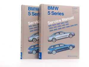 ES#2074647 - B510 - BMW E60/1 5 Series (2004-2010) Service Manual - A comprehensive must-have for any do-it-yourselfer! Includes 1734 pages of maintenance, service, and repair information in a 2 book set! - Bentley - BMW