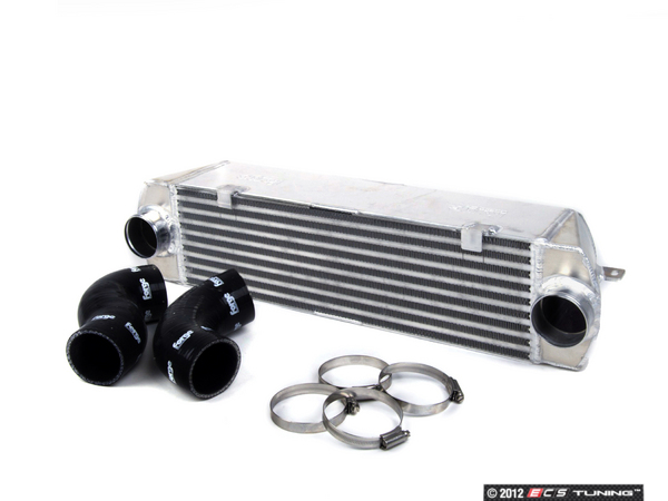 ES#1892328 - FMINT35 - Front Mount Intercooler - Complete intercooler upgrade kit to reduce charge temperatures and increase power. Includes silicone hoses and clamps - Forge - BMW