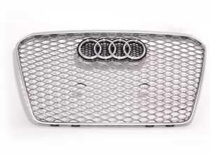 ES#2557384 - 8T0853651JMOJ - RS5 Grille - Gun Metal / Aluminum Matte - Clean up or change your look - Genuine Volkswagen Audi - Audi