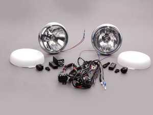 ES#174047 - 63210420292 - Driving Lights Retrofit Kit - Chrome - Add rally lights to your MINI grille - Genuine MINI - MINI