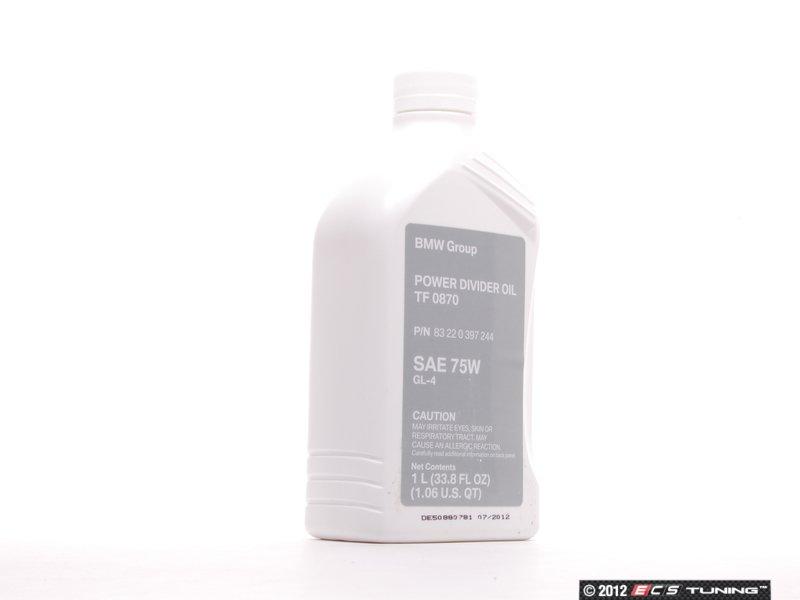 Es 197388 83220397244 Transfer Case Fluid 1 Liter