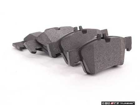 ES#2561300 - 0044204420 - Rear Brake Pad Set - Brake pads only -- Does not include new wear sensors or installation hardware - ATE - Mercedes Benz