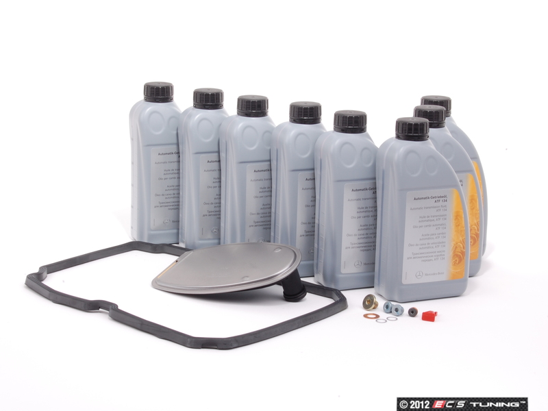 Ecs news mercedes benz w209 clk class transmission for Mercedes benz transmission fluid change