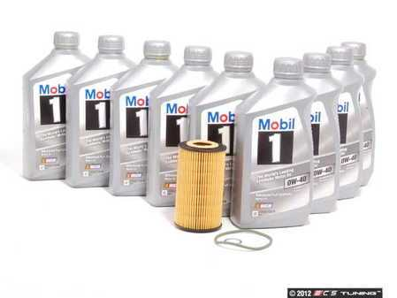 ES#2539449 - 99610722560KT1 - Oil Change Kit Non Turbo 996/986 - Featuring Genuine Porsche Mobile 1 (0w-40) and Hengst Oil Filter - Mobil1 - Porsche