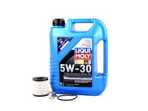 ES#2582017 - 11427622446KT4 - MINI Liqui Moly 5w-30 Oil Service Kit Gen 2 - Priced As Kit - All in one service for your MINI - Assembled By ECS - MINI