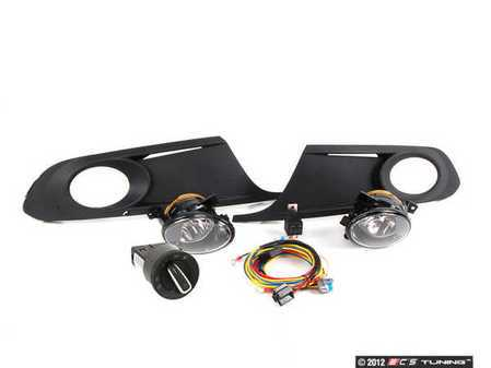ES#2500919 - 5C6998001C - Fog Light Kit - Everything that you'll need to add fog lights to your vehicle - Assembled By ECS - Volkswagen