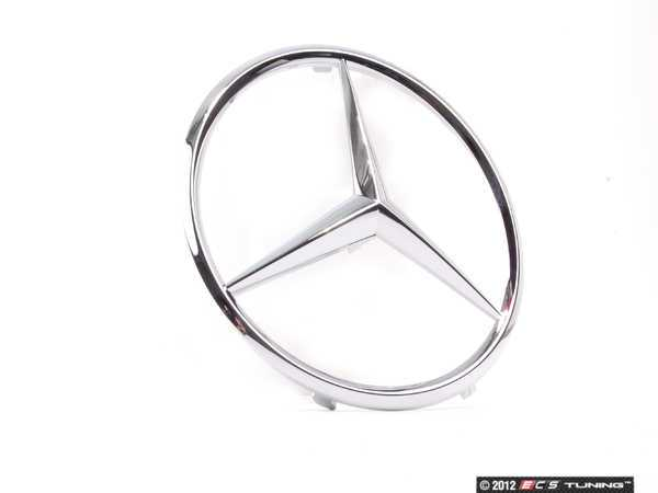 Genuine mercedes benz 1718880086 mercedes benz star emblem for Mercedes benz star logo
