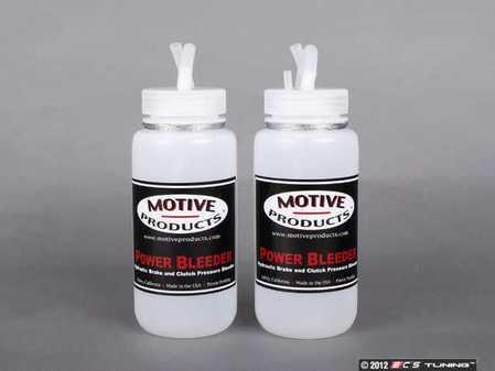 ES#4557 - MOTIVE1820 - Power Bleeder Catch Bottle Set - Make your brake flush a clean and easier job - Motive - Audi BMW Volkswagen Mercedes Benz MINI Porsche