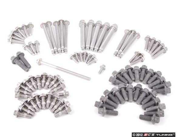 Genuine BMW - 11110426591 - Engine Block Fastener Set (11-11-0-426-591)
