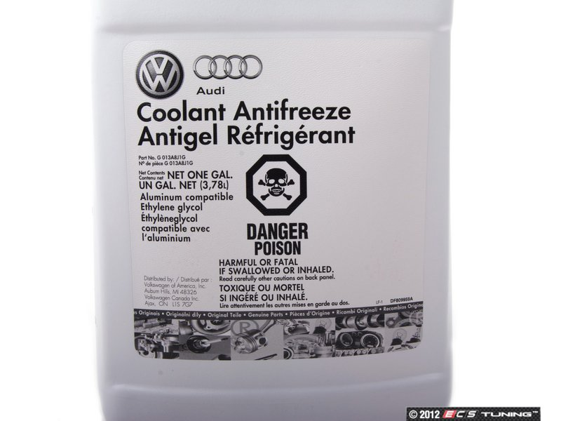 Genuine Volkswagen Audi G13 Coolant Antifreeze 1 Gallon