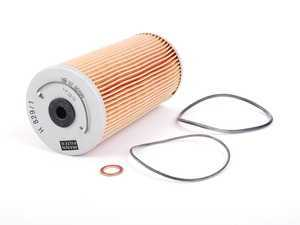 ES#2603048 - 1191800009 - Oil Filter Kit - Priced Each - Includes all needed o-rings for installation - Mann - Mercedes Benz
