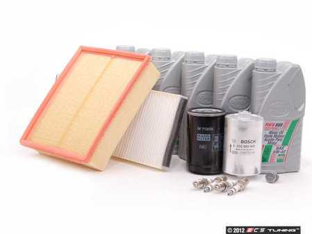 ES#3104 - B5AEBQUA40KSK -  40k Scheduled Service Kit - Standard Size Oil Filter - Everything you need to perform the recommended 40k mile service - Assembled By ECS - Audi