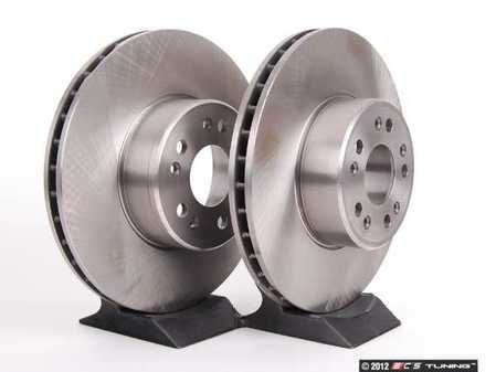 ES#2570087 - 1404211012KT7 - Front Brake Rotors - Set Of Two - Does not include new rotor securing screws - Brembo - Mercedes Benz