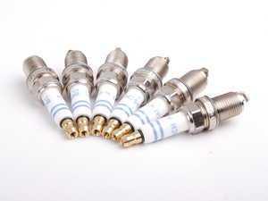 ES#2718951 - 99917010390KT1 - Spark Plugs - Set Of 6 - FR 6 DPP 332S - Bosch - Porsche