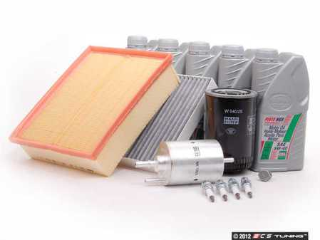 ES#261276 - B6A440KSKWLF2 - 40k Service Kit - With Larger Capacity Filter - Everything you need to perform the recommend 40k mile service - Assembled By ECS - Audi