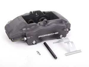 ES#9080 - 98635142203 - Front Brake Caliper - Black - Right side fitment - Genuine Porsche - Porsche