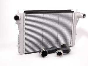 ES#2598657 - 1K0145803PKT - European S3 Intercooler Kit - This aluminum intercooler kit can improve your cooling efficiency up to 30%, includes necessary hoses! - Assembled By ECS - Volkswagen